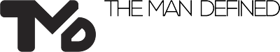 The Man Defined logo