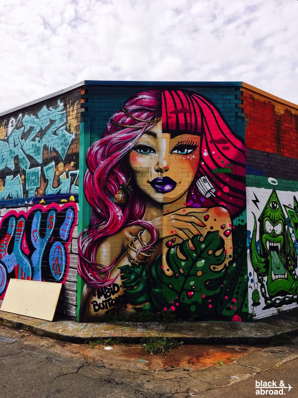 The Man Defined x Black & Abroad: Newtown Australia's Street Art