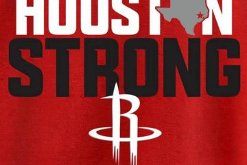 NBA Houston strong tee
