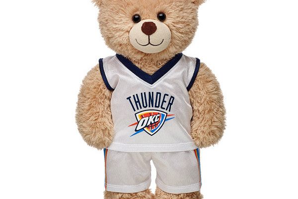 The Man Defined 2017 Holiday Gift Guide: NBAxBuild-A-Bear_OKC Thunder