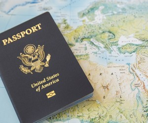 The Man Defined - Photo of Passport