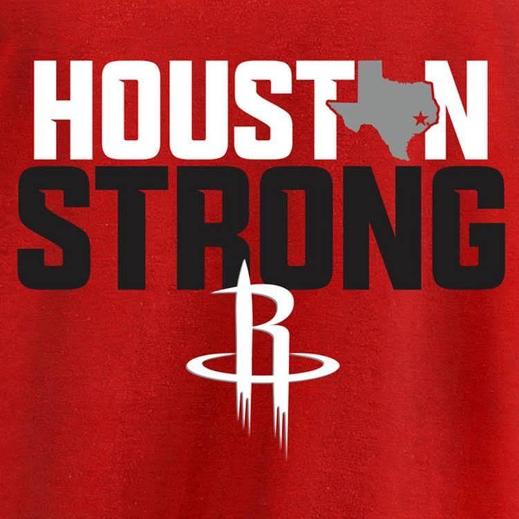NBA Houston strong tee