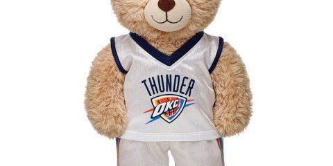 The Man Defined 2017 Holiday Gift Guide: NBAxBuild-A-Bear_OKC Thunder